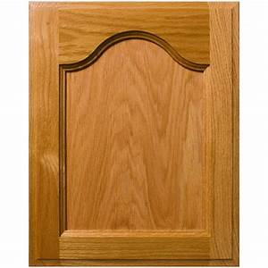 Custom Mission Cathedral Style Flat Panel Cabinet Door