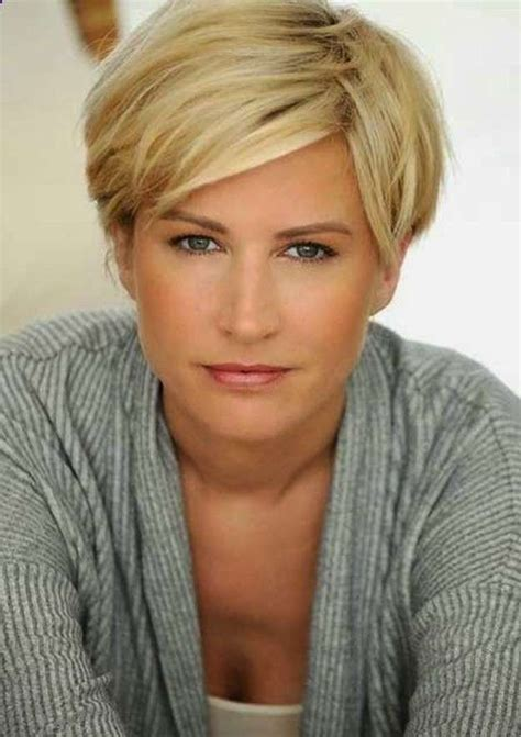 Short Haircuts for Women over 40 with Thick Hair Short