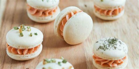 macarons salés à la mousse de saumon recette thermomix
