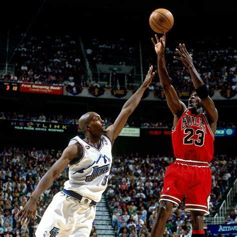 remember michael jordan hits game winner  win