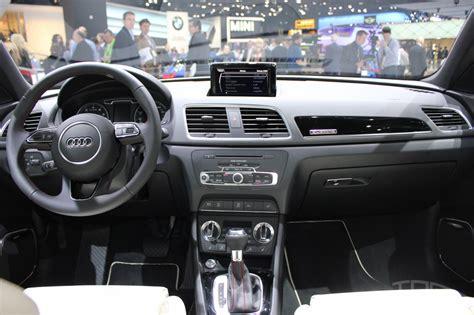 Audi Q3 Dashboard At Naias 2014 Indian Autos Blog
