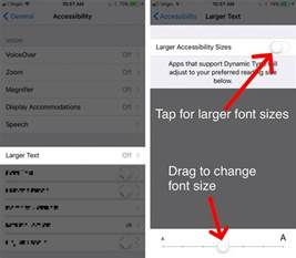 how to change font style on iphone how do i change font size on an iphone the easy fix