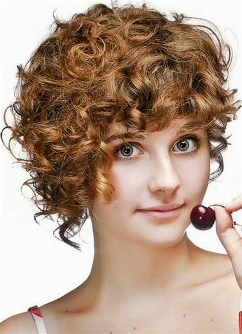 cute short curly hairstyle for girls girls hairstyles