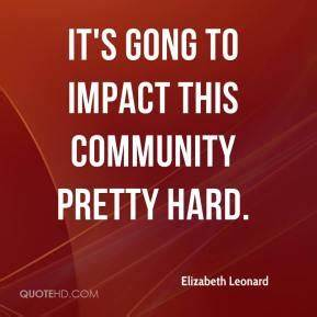 Gong Quotes - P... Leonard Community Quotes
