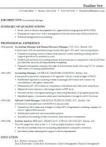 resume format for cost accountants association in united sle resume for an accounting manager susan ireland resumes