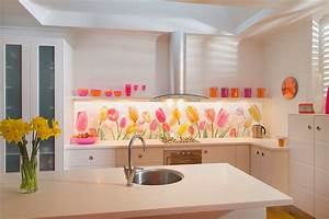 50 best kitchen backsplash ideas for 2018 With what kind of paint to use on kitchen cabinets for print your own stickers