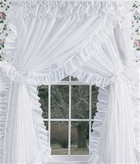 Dotted Swiss Priscilla Curtains by Sheer Priscilla Criss Cross Curtains Fashion Me
