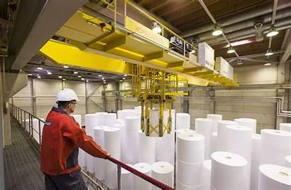 Paper Pulp Konecranes Industry Lifting Equipment Process