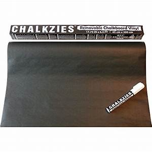 Chalkboard contact paper anumit self adhesive wall for Blackboard with white removable letters