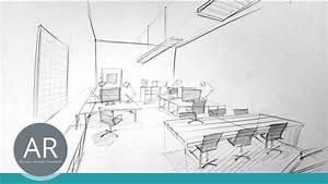 Perspektive Zeichnen Raum : architektur skizzen r ume perspektivisch zeichnen lernen mappenkurs architektur youtube ~ Orissabook.com Haus und Dekorationen
