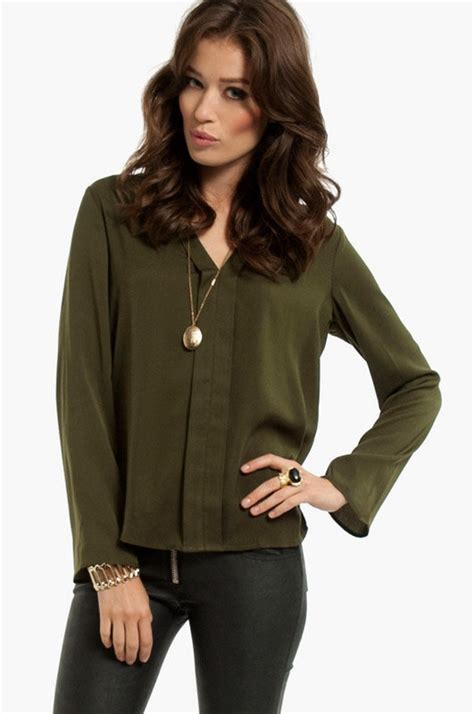 olive green blouse olive green blouse closet