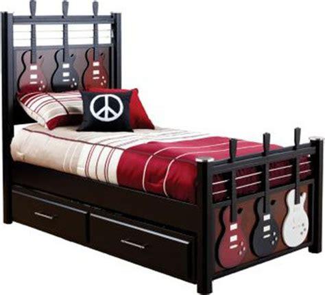kids guitar bed crafts furniture pinterest kid