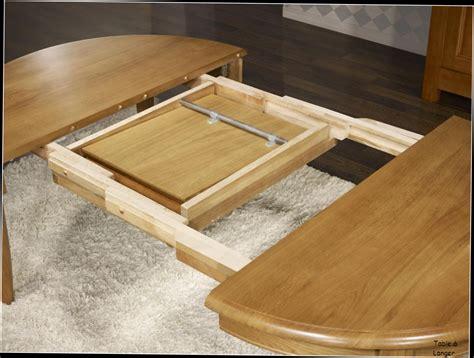 tables rondes avec rallonges maison design modanes