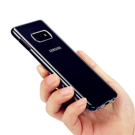 silikon case fuer galaxy se  transparent handyhuellen