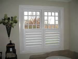 bathroom window covering ideas are these inside or outside mount if they are outside