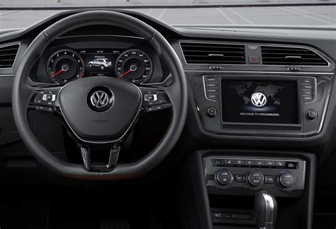 volkswagen tiguan 2016 interior 2016 volkswagen tiguan launched with only two engines