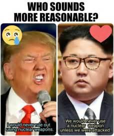 Donald Trump and Kim Jong Un Memes