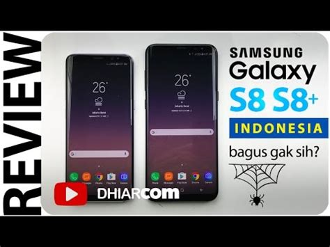 review samsung galaxy s8 s8 indonesia bagus gak sih youtube