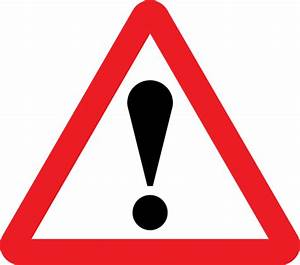 General Warning Sign - United Kingdom