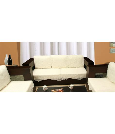 blue net weaved sofa cover set for 5 seater sofa