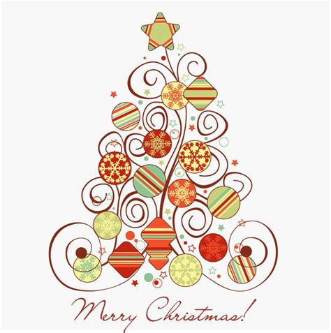 swirl floral christmas tree vector graphic free vector graphics all free web resources for