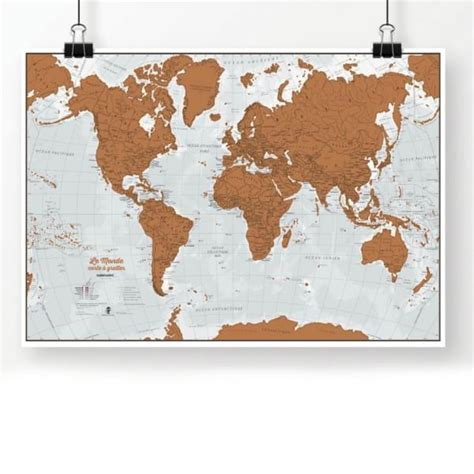 Carte Monde Deco by Carte Du Monde Deco Maison Design Modanes