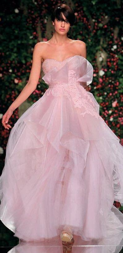 pastel pink dress abed mahfouz wedding dress collection wedding
