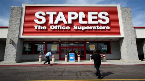 Office Depot Staples by Staples Office Depot Talking Merger Abc News