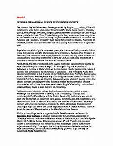 How To Write A Formal Letter Of Recommendation Sample Letters Of Reference Or Recommendation For Students