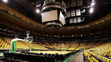 time lapsed    td garden changeover  hardwood  ice   years eve masslivecom
