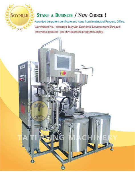 auto production lineautomatic soymilk extraction plantsemi auto soymilk making machine ta ti