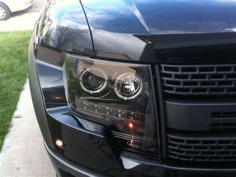 Ford F-150 & Raptor 2009-14 Recon Smoked Headlights W