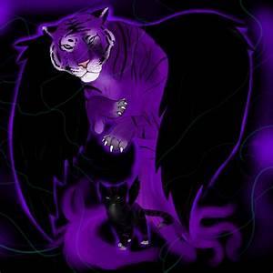 Purple tiger of doom by NinjaCookieNya on DeviantArt