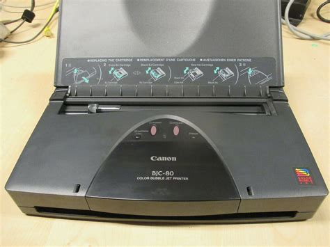 Canon Bjc-80 Parallel Color Laptop Mobile Printer Bjc 80