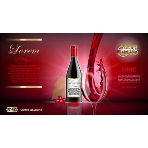 Wine Brochure Template Free wine brochure template vector free