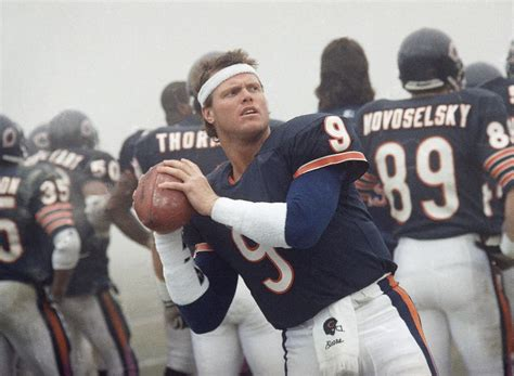chicago bears quarterback owns  unbreakable nfl
