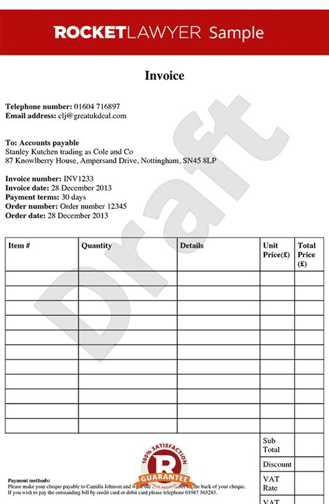 invoice template  invoice template create