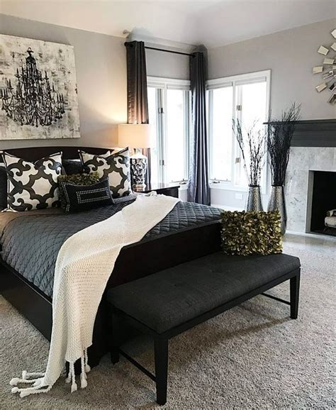 Decorating Ideas For Black Bedroom Furniture by 17 Best Ideas About Grey Bedroom Decor On