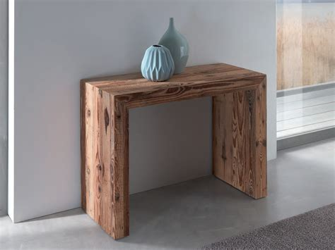 chaise solide glass wooden console table by ozzio italia