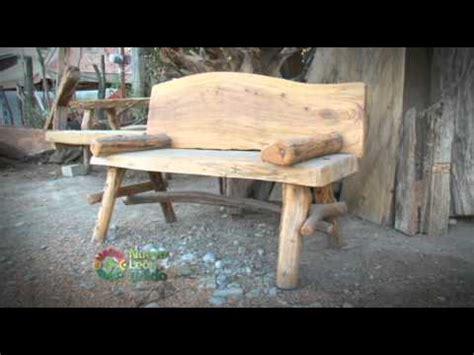 muebles  troncos de arboles youtube