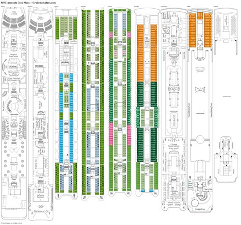 msc divina deck plans pdf msc armonia deck plans diagrams pictures