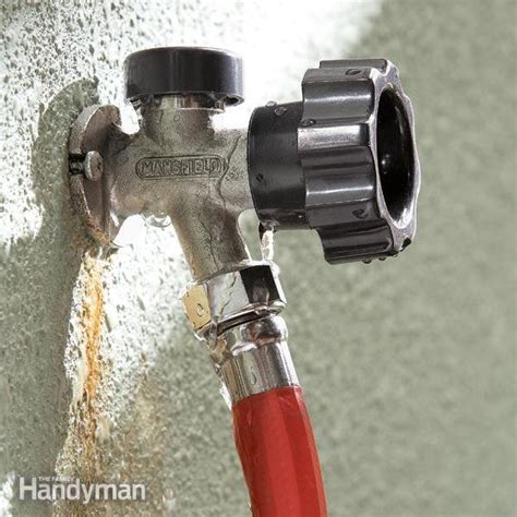 Fix Faucet Outside by Fix A Leaking Proof Faucet The Family Handyman