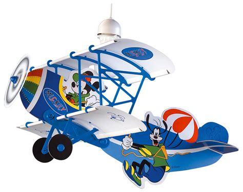 lustre pour chambre bébé mickey luminaire suspension lustre quot avion quot mickey