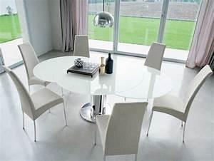 Ikea Tisch Weiß Glas : esstisch glas ausziehbar mit edelstahlbeinen und inkl st hle ikea f r elegante esszimmer tisch ~ Bigdaddyawards.com Haus und Dekorationen