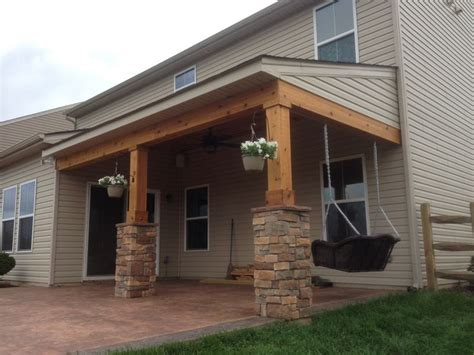 Cedar Porch Ceiling by Covered Porch All Cedar Trim And Cedar Tongue And Groove