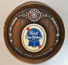 Vintage Beer Sign Pabst Bartender Sign Beer Advertising
