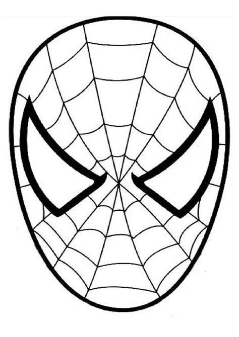 Mascara Homem Aranha Imprimir~molde mascara homem aranha