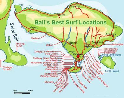 bali surfing map ehomestay canggu bali