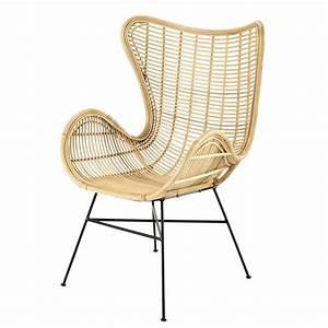 Fauteuil Maison Du Monde : fauteuil en rotin kawa maisons du monde ~ Teatrodelosmanantiales.com Idées de Décoration