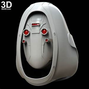 3d Blueprint Design Software 3d Printable Model Ghost Helmet From Ant Man And The Wasp